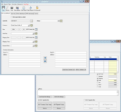 Prepare invoice screen capture