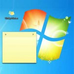 Windows 7 Sticky Notes