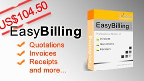 EasyBilling Invoicing Software - Invoice, Receipt, Quotation