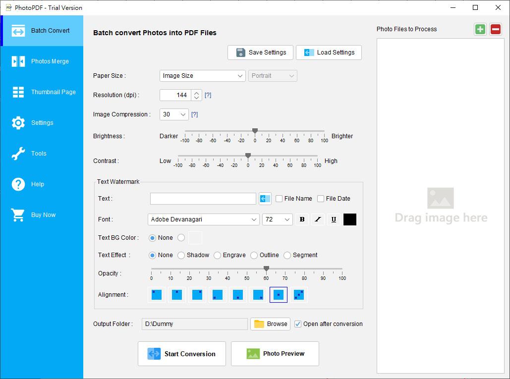 how to add photo to pdf mac