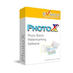 PhotoX Batch Watermark Software