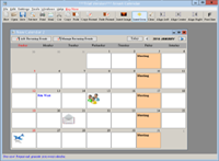 Smart Calendar Main Screen