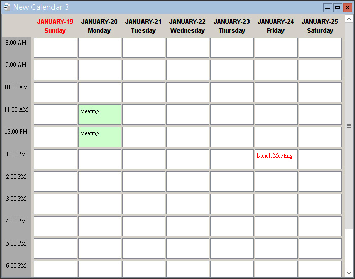 Smart Calendar software - Prepare and Generate your Event ...