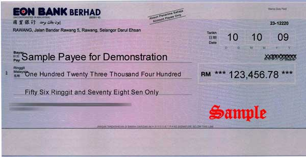 Chequesystem Cheque Printing Amp Management Software Print