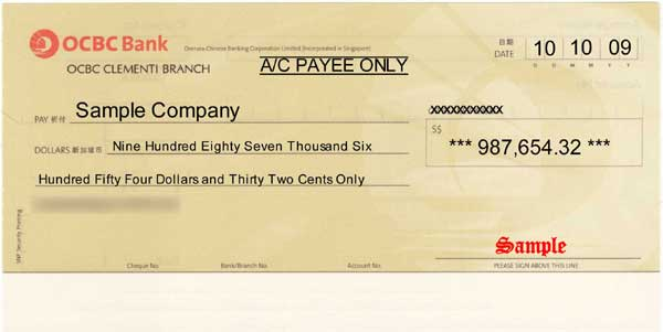 ChequeSystem Cheque Printing & Management software - Print